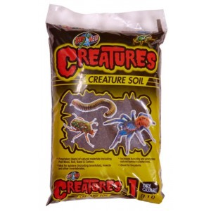Zoo Med Creatures Soil - Substrato Solto