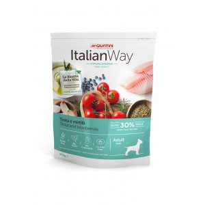 Giuntini Italian Way Cão Mini Peso Ideal Truta & Mirtilos