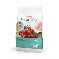 Giuntini Italian Way Cão Médio Peso Ideal Truta & Mirtilos